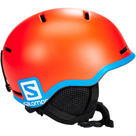 Salomon Grom - Casco de bicicleta - naranja/Turquesa
